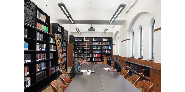 Sterling Memorial Library, Judaic Studies Renovation